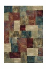 Oriental Weavers Florenza 560X Rug Squares Red Cream Blue Mult 200w X 285lcm