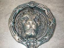 Large Cast Lions Head Door Knocker