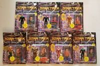 Vintage Lot of 7 Star Trek Deep Space 9 Playmates Action Figures from 1993
