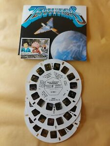 1983 Terrahawks TV SHOW  VIEWMASTER 3 Reels & card D-230 GERRY ANDERSON