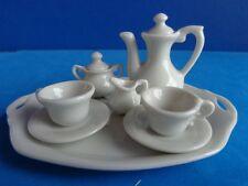 VINTAGE MINIATURE DOLL OR DOLLHOUSE CHINA TEA SET