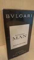 BVLGARI MAN BLACK COLOGNE 100ML Eau de Toilette Pour Homme Spray Men EDT