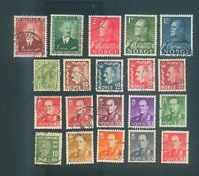 Norway Mix used stamps #1