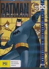 Batman The Animated Series Volume Four 4 DVD NEW DC Classical Collection Region4