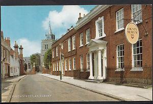 Buckinghamshire Postcard - Church Street, Aylesbury   MB239