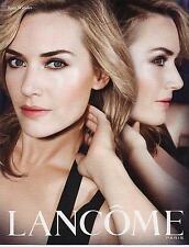 ▬► PUBLICITE ADVERTISING AD  Produits de Beauté crème Lancôme Kate Winslet 2013