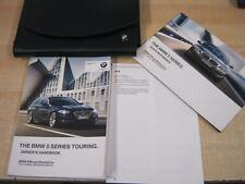 BMW 5 SERIES  ESTATE TOURING GENUINE HANDBOOK PACK OWNERS MANUAL  2009-2013