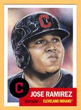 Jose Ramirez Cleveland Indians 2018 Topps 1953 Living Set 20 from Week 7