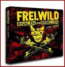 """Frei.wild """"rivalen und rebellen-Live & More"""" limited 2CD + DVD NEU Album 2018"""