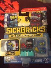 Sick Bricks Team 2 Character Pack Bluezone Battler Rogue Robot Game New!!!