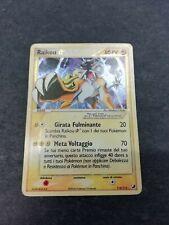 Pokémon - Raikou - gold star - EX Forze Segrete - italiano