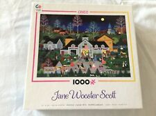 """Jane Wooster Scott 1000 Piece Ceaco Puzzle """" Swing Your Partner """"  Built Once"""