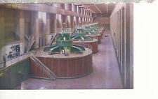 Hoover (Boulder) Dam Power House 7 Generators Nevada Chrome Postcard 1207