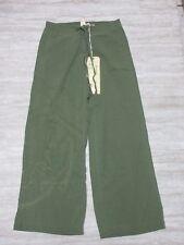 NEW Da-Nang Women's Pants/ Gaucho Pants FATIGUE GREEN RSS19581663 Size: SMALL