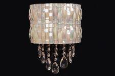 Contemporanea Mosaico Lampada Da Parete con 2 Integrati bianco luce LED,3