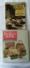 Useful Baskets Mara Cary & The Basket Book Lyn Siler Basket Making