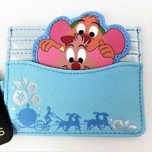Disney Princess Cinderella Mice Jaq & Gus Cardholder Characters Pumpkin Carriage