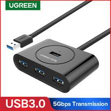 Ugreen External 4 Port USB 3.0 HUB Bus Powered Adapter for Mac,Raspberry Pi,HDD
