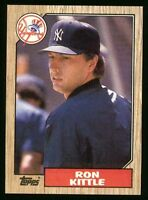 Lot Of 175 1987 Topps Baseball Ron Kittle Card # 584 NY Yankees