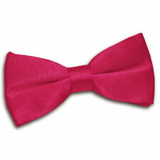 Accessoires nœud papillon rouge en polyester pour homme