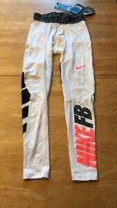 Nike Pro Combat Football Compression Pants Tights Leggings 651276-100   Men's M