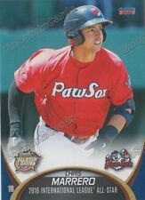 2016 International League All Star Chris Marrero RC Rookie Red Sox