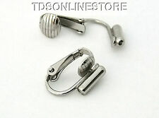 Earring Converters Convert Post Earring To Clip On Earring Silver Color
