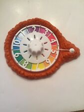 Game of Life 2007 Replacement Parts SPINNER Orange Board Game - Preowned Hasbro