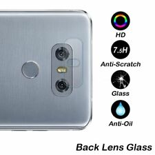Hot Sale 7.5H Transparent Tempered Glass Film Back Camera Lens Skin For LG G6