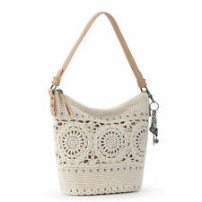 The Sak Sequoia Crochet Hobo Bag Neutral