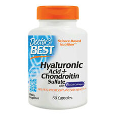 Hyaluronic Acid + Chondroitin Sulphate, 60 Capsules - Doctors Best