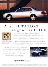 1995 Toyota Camry -  Original Advertisement Print Art Car Ad J917