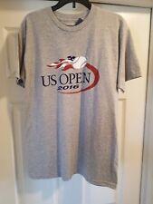 New US Open Tennis 2016 Gray T-shirt Men's Size S US Open USTA Licensed Product