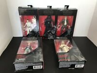 Lot of 5: Hasbro Star Wars The Black Series. Action Figures # 2, 3, 18, 46, 52.