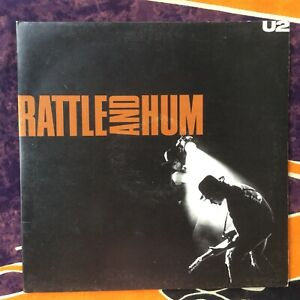 U2 Rattle and Hum Vinyl LP (Gatefold Sleeve) Original 1988 Pressing