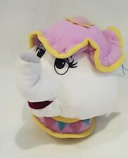 New Beauty and Beast Mrs Potts teapot cup soft toy rare. kids soft toys hug