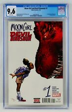Moon Girl And Devil Dinosaur #1 CGC 9.6 First Appearance 1st App & NM+ Key Grail