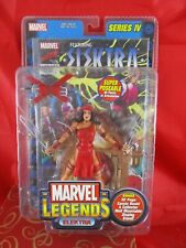 Toy Biz Marvel LEGENDS Elektra SERIES IV Action Figure w BONUS COMIC BOOK