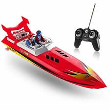 Top Race Remote Control Water Speed Boat, RC Boat for Kids, Perfect Toy for