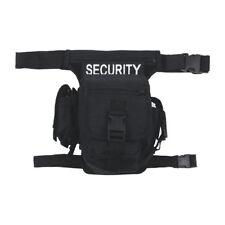 Security Taille Heup Bag Bum Travel Combat Heuptasje Met Logo 10 Zakken Zwart