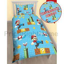 Nintendo Super Mario FABRIQUANT simple rotatif Set HOUSSE DE COUETTE