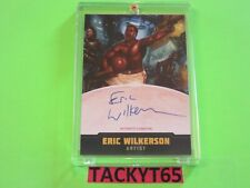 2015 MARS ATTACKS OCCUPATION AUTOGRAPH CARD A7 ERIC WILKERSON