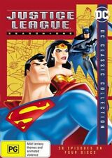 Justice League Season 1 One First DVD NEW Region 4
