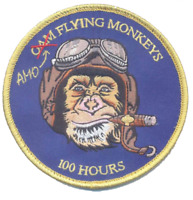 "CBP AMO Pilot's 100 Hours 4"" Patch"