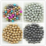 4mm 6mm 8mm 10mm Acrylic Stardust Round Spacer Loose Beads DIY Jewelry Making