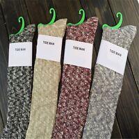 Fashion Women Classic Knee Length Stockings Thigh-High Socks Cotton Socks 1 Pair