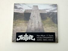 JUSTICE - JUSTICE - CD DIGIPACK ED BANGER 2011 - ELECTRO - NUOVO/NEW - DP