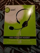Onn Xbox 360 Chat Headset with Mic and Volume Control