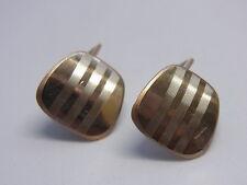 Designer  Gold Manschettenknöpfe Double Cuff Links AmD  Nr.64