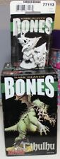 "REAPER DARK HEAVEN BONES MINIATURES C'THULHU 9"" & ELDRITCH DEMON NEW IN OPEN BOX"